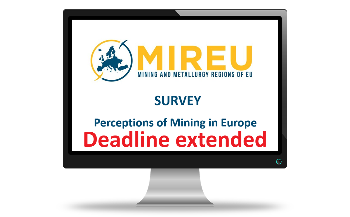 A computer screen displays the details of the MIREU survey
