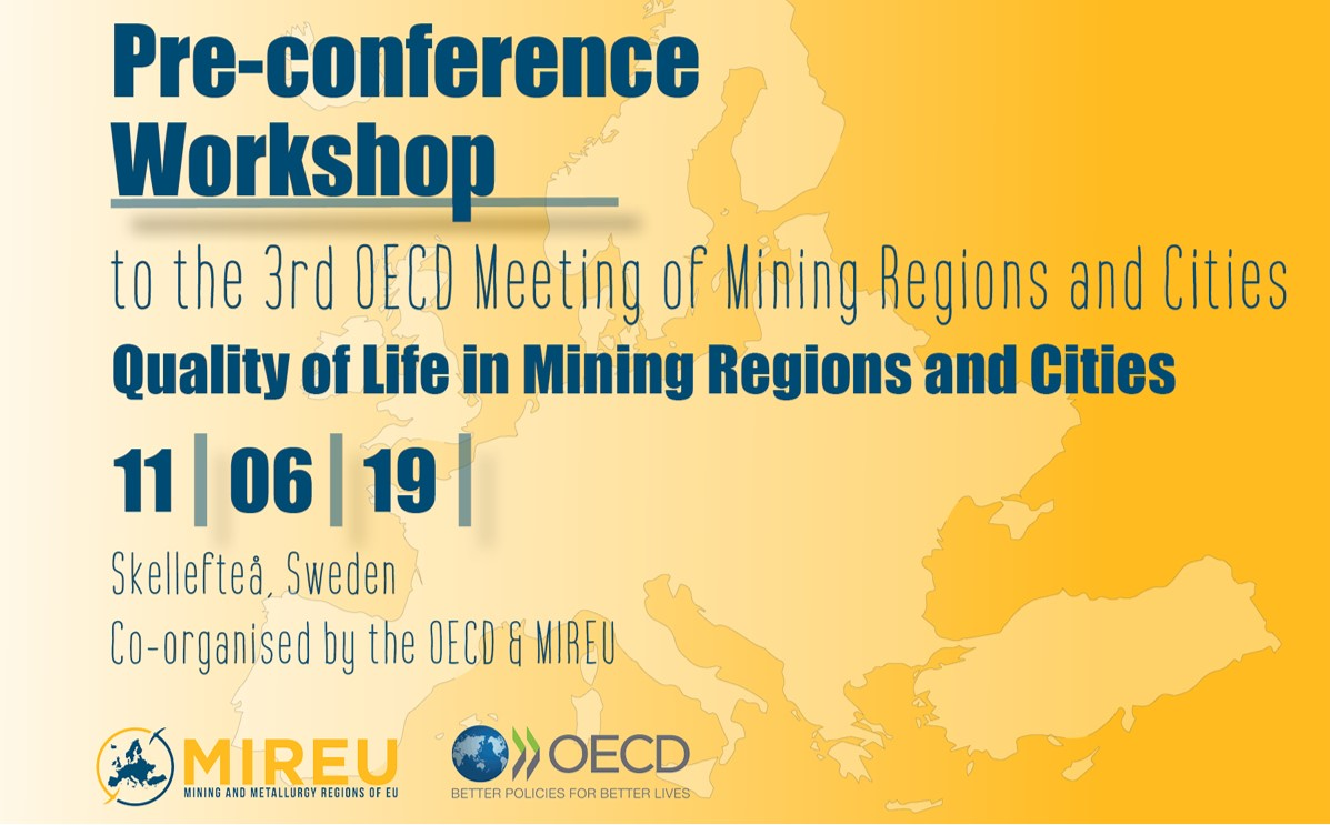 Poster for 3rd OECD meeting of mining regions & cities