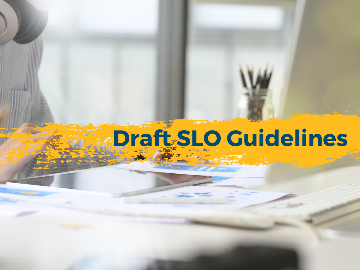 Draft SLO Guidelines
