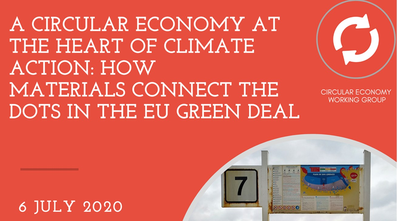 A circular economy at the heart of climate action: how materials connect the dots in the EU Green Deal