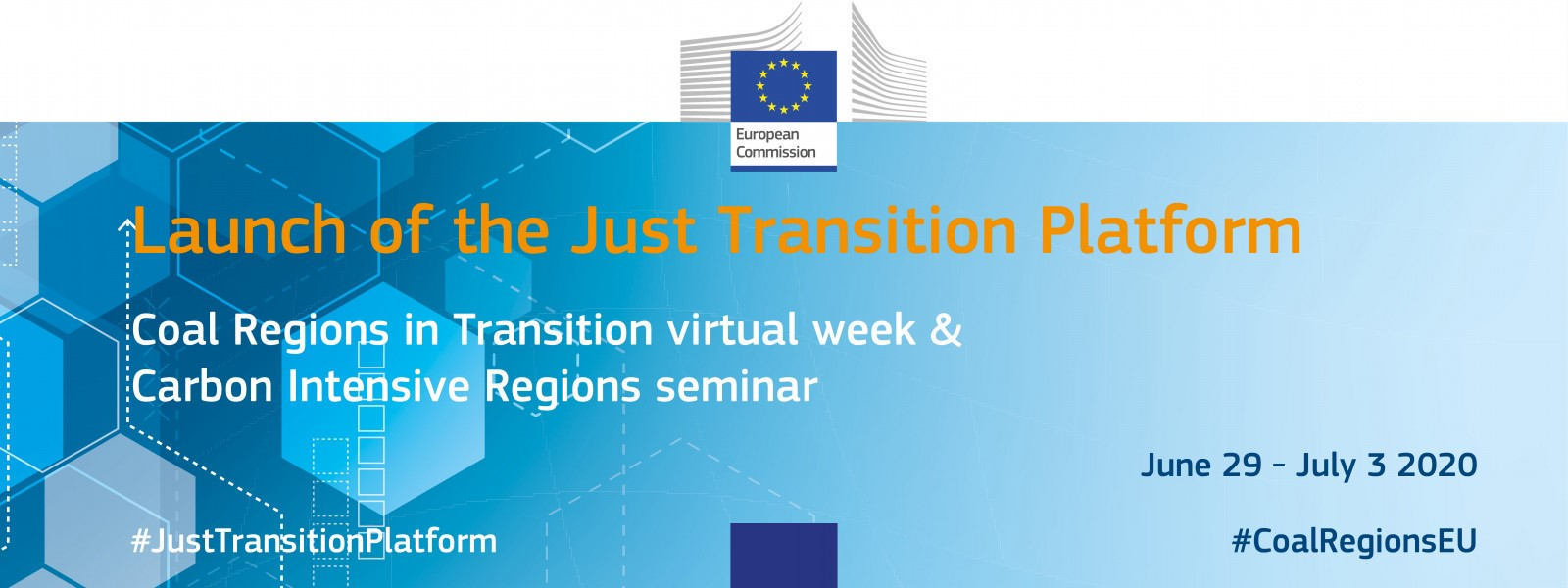 Launch of Just Transitions Platform: Coal Regions in Transition