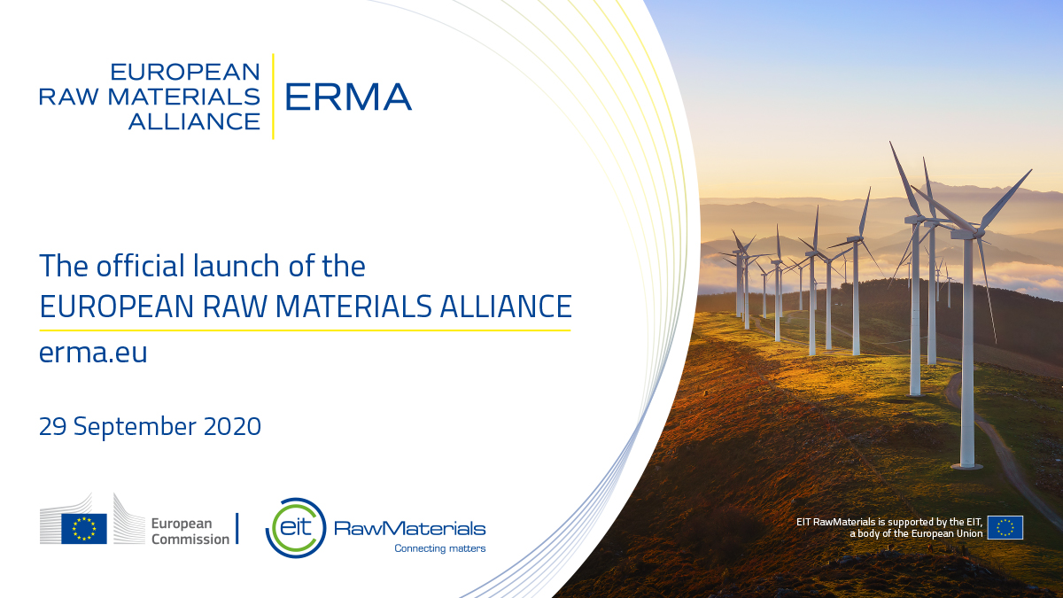 European Raw Materials Alliance (ERMA) launches